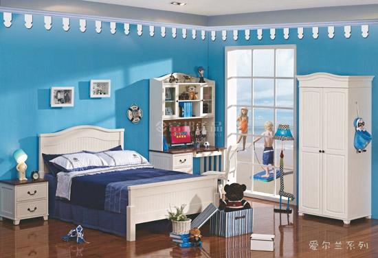 欧式少年卧室装修效果图